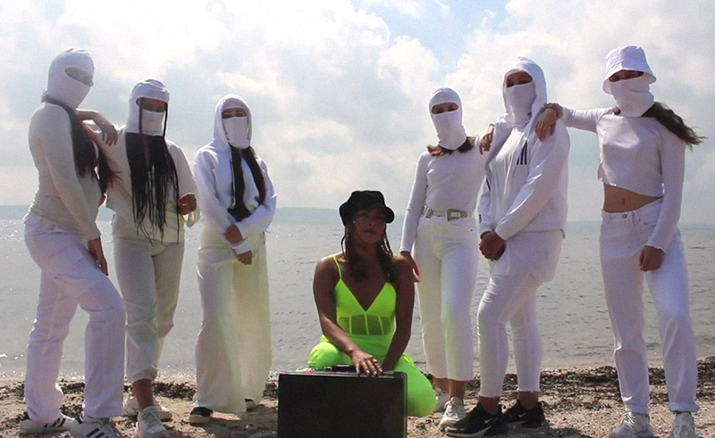 Belfast-based Egyptian Rapper & Vocalist Dena Anuk$a's 'Shine' Celebrates Female Solidarity
