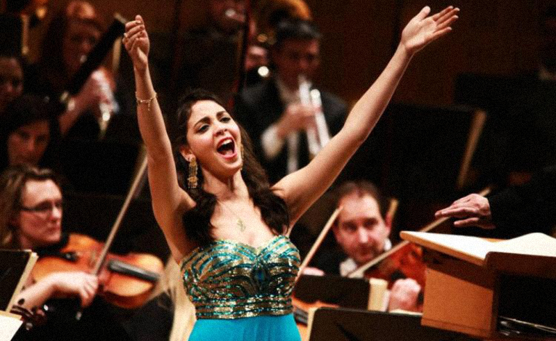 Egyptian Soprano Fatma Said Lands Deal with Recording Giant Warner Classics