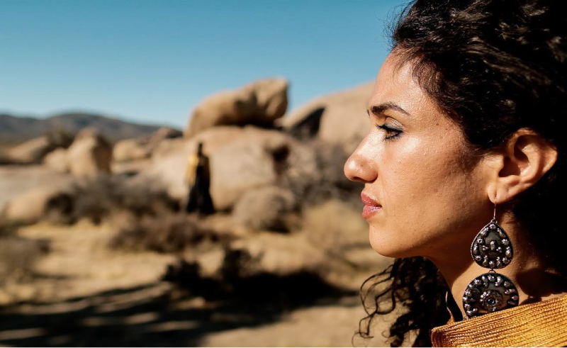 Lebanese-American Songstress Naima Shalhoub Releases Tarb-Inspired Folk Track 'Two (Rivers in a Desert)'